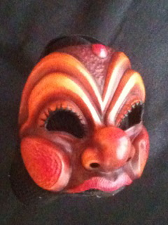 Arlecchino- commedia mask by Newman