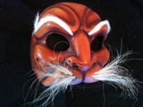 Brigante - commedia mask by Newman