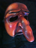 Capitano Fanfarone - commedia mask by Newman