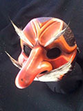 Capitano Mata Moros (two Tone) - Commedia mask by Newman