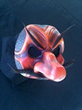 Capitano Spavento (two tone) -Commedia mask by Newman