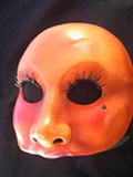 Colombina - commedia mask by Newman