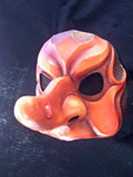 Coviello Nuovo - Commedia mask by Newman