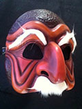 Don Pantalone (two tone) - Commedia mask by Newman