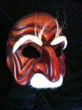 Don Pantalone, dark - commedia mask by Newman