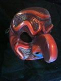 Pulcinella Cetrulo - commedia mask by Newman
