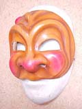 Arlecchino Bello - commedia mask by Newman