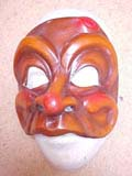 Trivelino - commedia mask by Newman