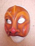 Truffaldino - commedia mask by Newman