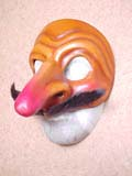 Capitano Tres Huevos - commedia mask by Newman