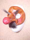 Capitano Mala Gamba - commedia mask by Newman