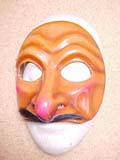 Scapino - commedia mask by Newman