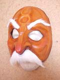 Signor Pantalone - commedia mask by Newman