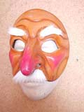 Cassandro - commedia mask by Newman