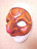 Polliciniello - commedia mask by Newman
