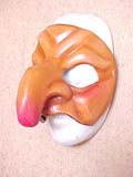 Pulliciniella - commedia mask by Newman