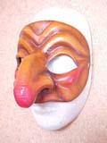 Pulcinella - commedia mask by Newman