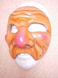 Bertoldino - commedia mask by Newman