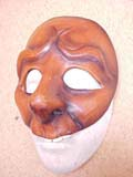Bigolo - commedia mask by Newman