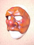 Brighella Bruto - commedia mask by Newman