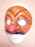Brighella - commedia mask by Newman