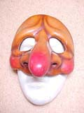 Stupino - commedia mask by Newman